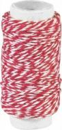 Нитка декоративна подвійна червона 20 м 2162660012 1 шт. Knorr Prandell