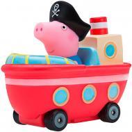 Фигурка Peppa Pig Мини-машинка из серии Когда я вырасту Джордж в кораблике