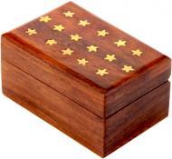 Скринька дерев'яна Зірки WB106-4