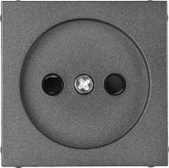 Накладка на механізм розетки HausMark Alta чорний SNG-SCP.SQ20MG1WTG-BK