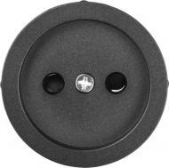 Накладка на механізм розетки HausMark Bela чорний SNG-SCP.RD20MG1WTG-BK