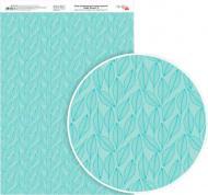 Папір для дизайну односторонній глянцевий Magic Flowers 8 А4 250 г/кв.м Rosa Talent