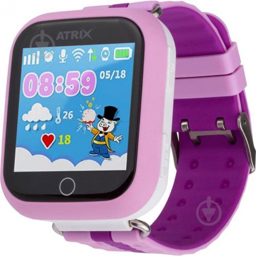 ᐉ Смарт-годинник Atrix Smart watch iQ100 Touch GPS pink • Краща ... 0ce3bdf4f847f