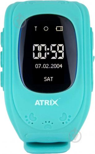 ᐉ Смарт-годинник Atrix Smart watch iQ300 GPS blue • Краща ціна в ... 75608ef37c4fa