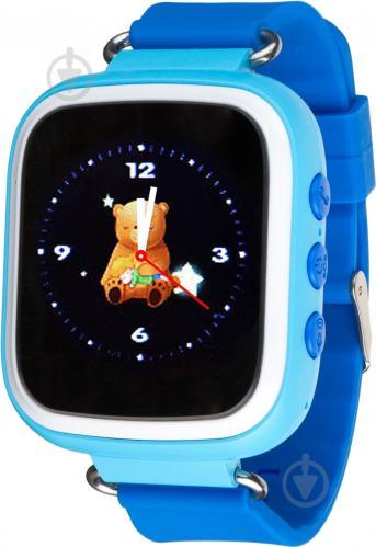 ᐉ Смарт-годинник Atrix Smart watch iQ200 GPS blue • Краща ціна в ... d67c45680bdd1