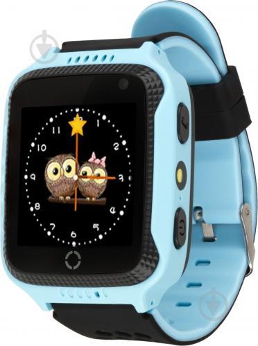 ᐉ Смарт-годинник Atrix Smart watch iQ600 GPS blue • Краща ціна в ... 091f90d0d85f7
