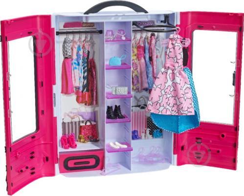 ᐉ Ігровий набір Barbie Шафа-валіза для одягу DMT57 • Краща ціна в ... 93896b350896e
