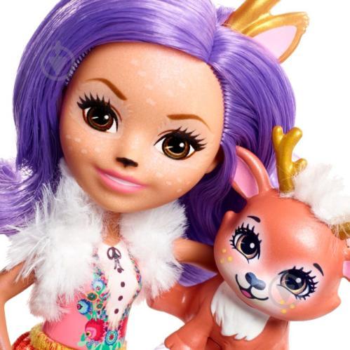 Кукла Enchantimals Олениха Дениса FNH23 - фото 2