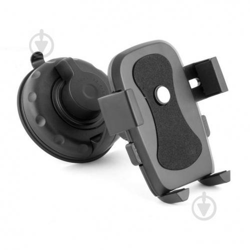 Автодержатель универсальный 360° 54 - 80 мм DU17 Белавто DU17 черный с серым - фото 1