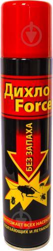 Аерозоль ДихлоForce Універсальний інсектицидний засіб 200 мл - фото 1
