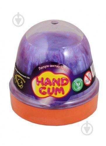 Лизун-антистресс MiC Hand gum 120 г Фиолетовый (80097) - фото 1