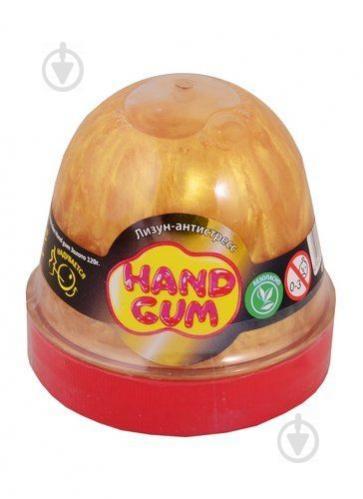 Лизун-антистресс MiC Hand gum 120 г Золотой (80102) - фото 1