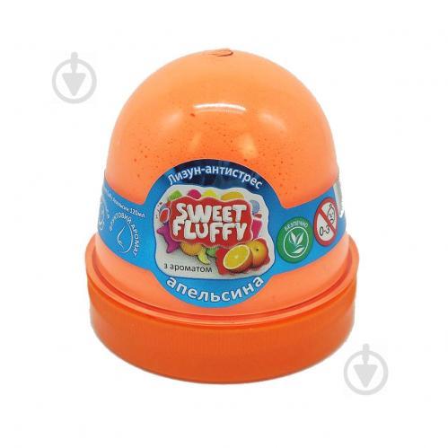 Лизун-антистресс MiC Sweet fluffy Апельсин 120 мл (80070) - фото 1