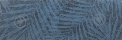 Плитка Opoczno Діксі деко дарк блу сатін 20x60 см - фото 1