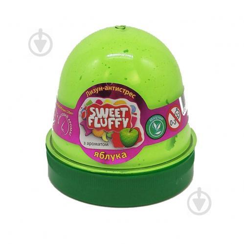 Лизун-антистресс MiC Sweet fluffy Яблоко 120 мл (80073) - фото 1