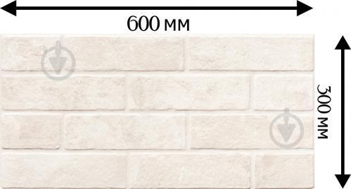 Плитка Zeus Ceramica Brickstone white ZNXBS1 30х60 - фото 3