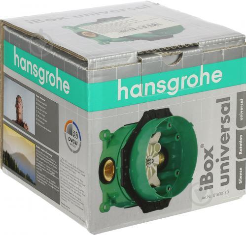 Прихована частина змішувача Hansgrohe Ibox 01800180 - фото 3