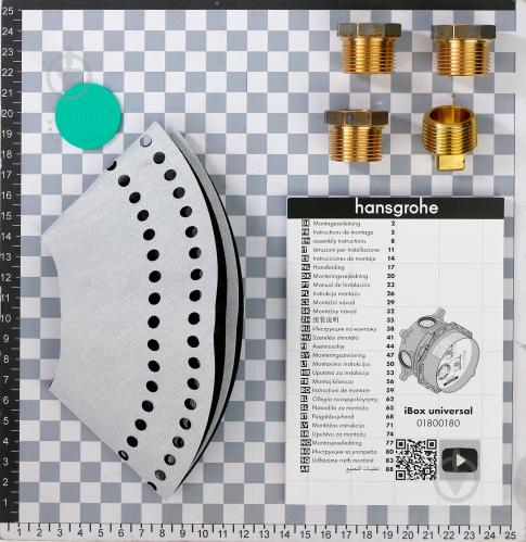 Прихована частина змішувача Hansgrohe Ibox 01800180 - фото 4