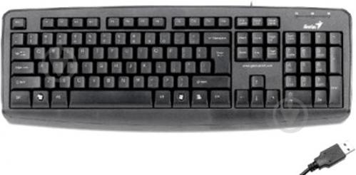 Клавіатура Genius KB-110X USB (31300711108) black - фото 1