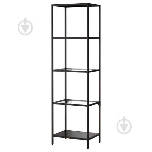Стеллаж IKEA VITTSJO Черно-коричневый (502.146.78) - фото 1