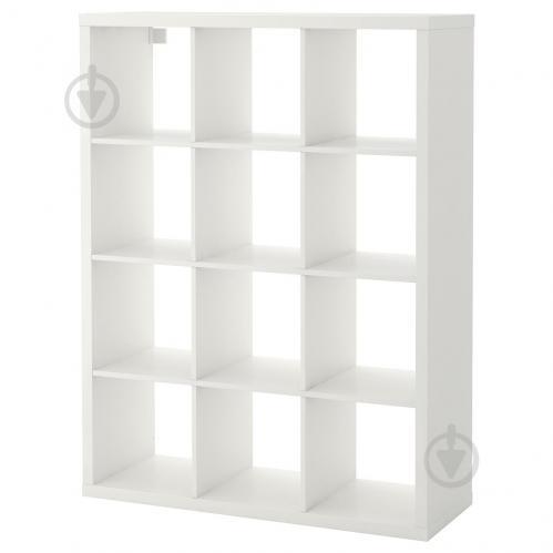 Стеллаж IKEA KALLAX 112x147 см Белый (104.099.32) - фото 1