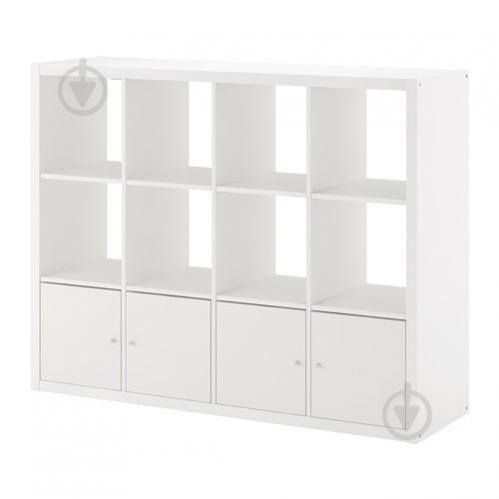 Стеллаж IKEA KALLAX 147x112 см Белый (792.782.50) - фото 1