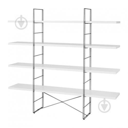 Стеллаж IKEA ENETRI Белый с серым (292.276.06) - фото 1