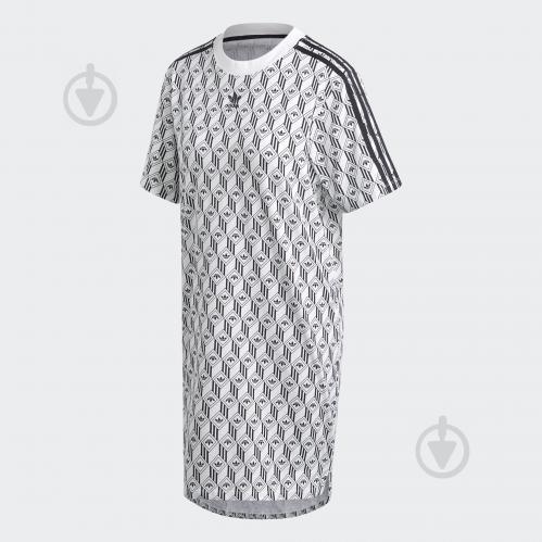 Платье Adidas TEE DRESS FM1069 р. 40 белый - фото 1