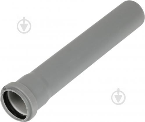 Труба з розтрубом Plastimex ПВХ d50х500