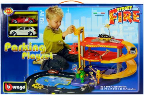 Игровой набор гараж bburago