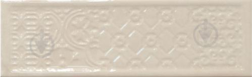 Плитка Cifre Тітан айворі декор 10x30,5 - фото 1