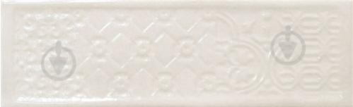 Плитка Cifre Тітан вайт декор 10x30,5 - фото 1