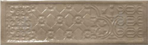 Плитка Cifre Тітан візон декор 10x30,5 - фото 1