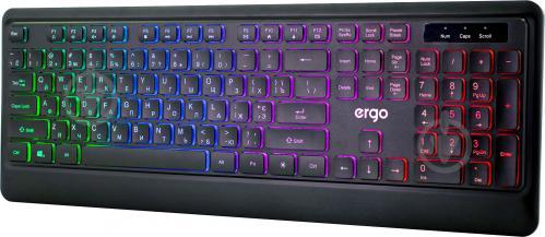 Клавіатура ігрова Ergo KB-635 (KB-635) black - фото 1
