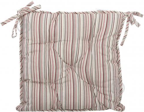 Подушка на стілець Вінтаж Смужка 40x40 см La Nuit