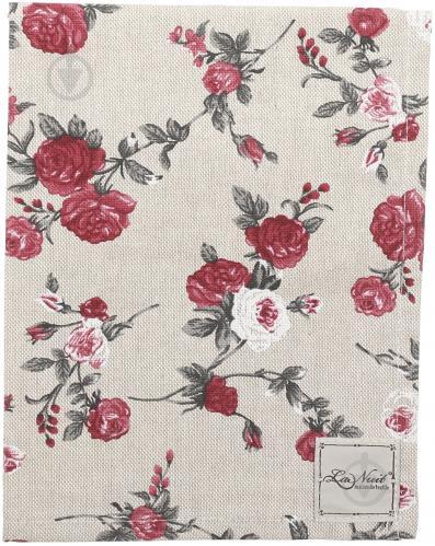 Серветка La Nuit Вінтаж Троянди 35x45 см бежевий із червоним