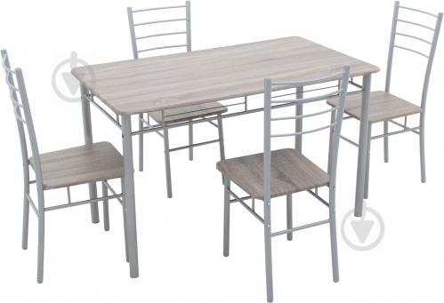 ᐉ комплект визит 1 стол обеденный со стульями 4 шт купить в