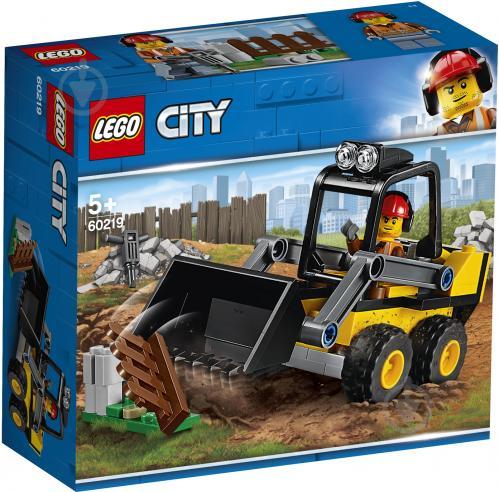 Конструктор LEGO City Строительный погрузчик 60219 - фото 1