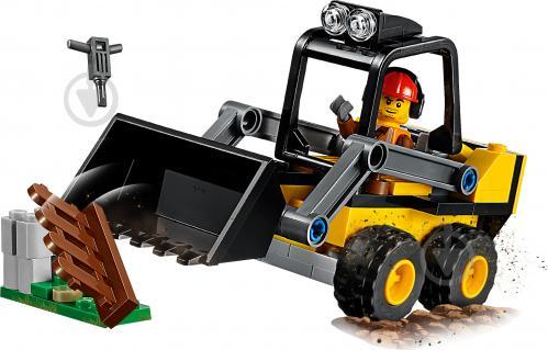 Конструктор LEGO City Строительный погрузчик 60219 - фото 3