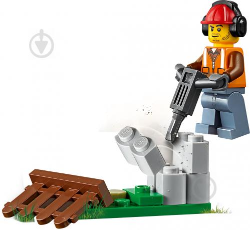 Конструктор LEGO City Строительный погрузчик 60219 - фото 4