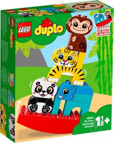 Конструктор LEGO Duplo Мої перші тварини-акробати 10884 - фото 1