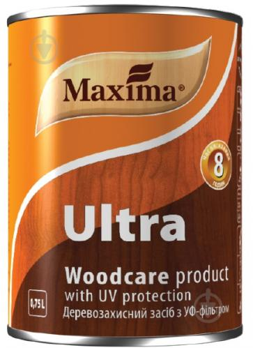 Декоративное и защитное средство для древесины Maxima Ultra ореховое дерево глянец 0,75 л - фото 2