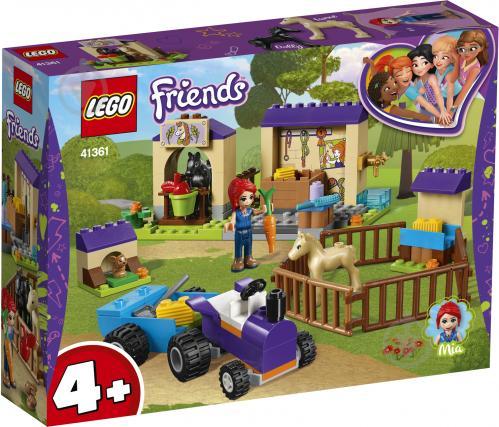 Конструктор LEGO Friends Конюшня для лошати Мії 41361 - фото 1