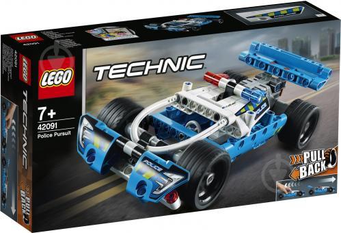 Конструктор LEGO Technic Поліцейське переслідування 42091 - фото 1