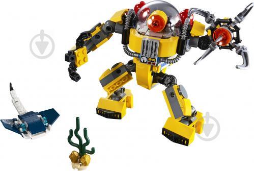 Конструктор LEGO Creator Підводний робот 31090 - фото 2