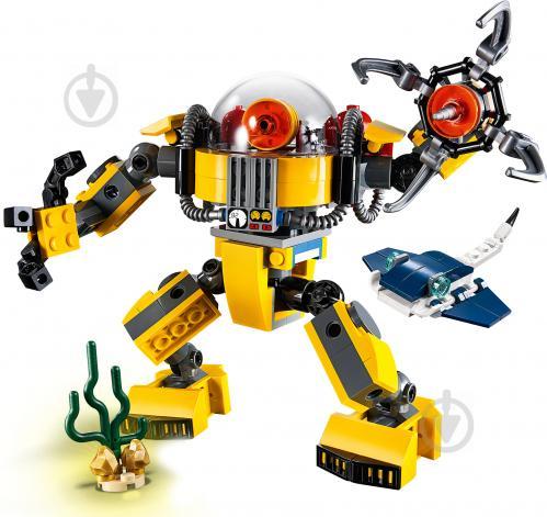 Конструктор LEGO Creator Підводний робот 31090 - фото 3