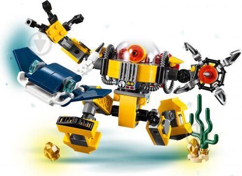Конструктор LEGO Creator Підводний робот 31090 - фото 6