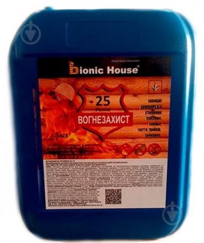 Огнебиозащита Bionic House БС-13 готовый раствор бесцветный 5 кг - фото 1