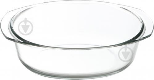 Гусятниця з кришкою скляна 3,5 л Flamberg - фото 2