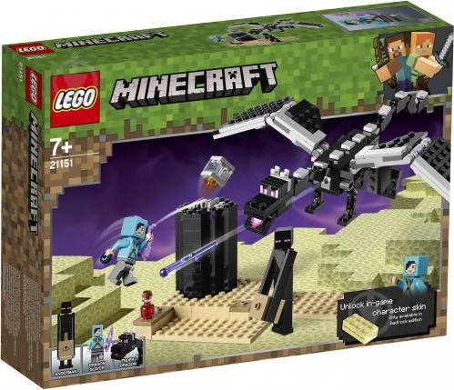 Конструктор LEGO Minecraft Битва на земле 21151 - фото 1